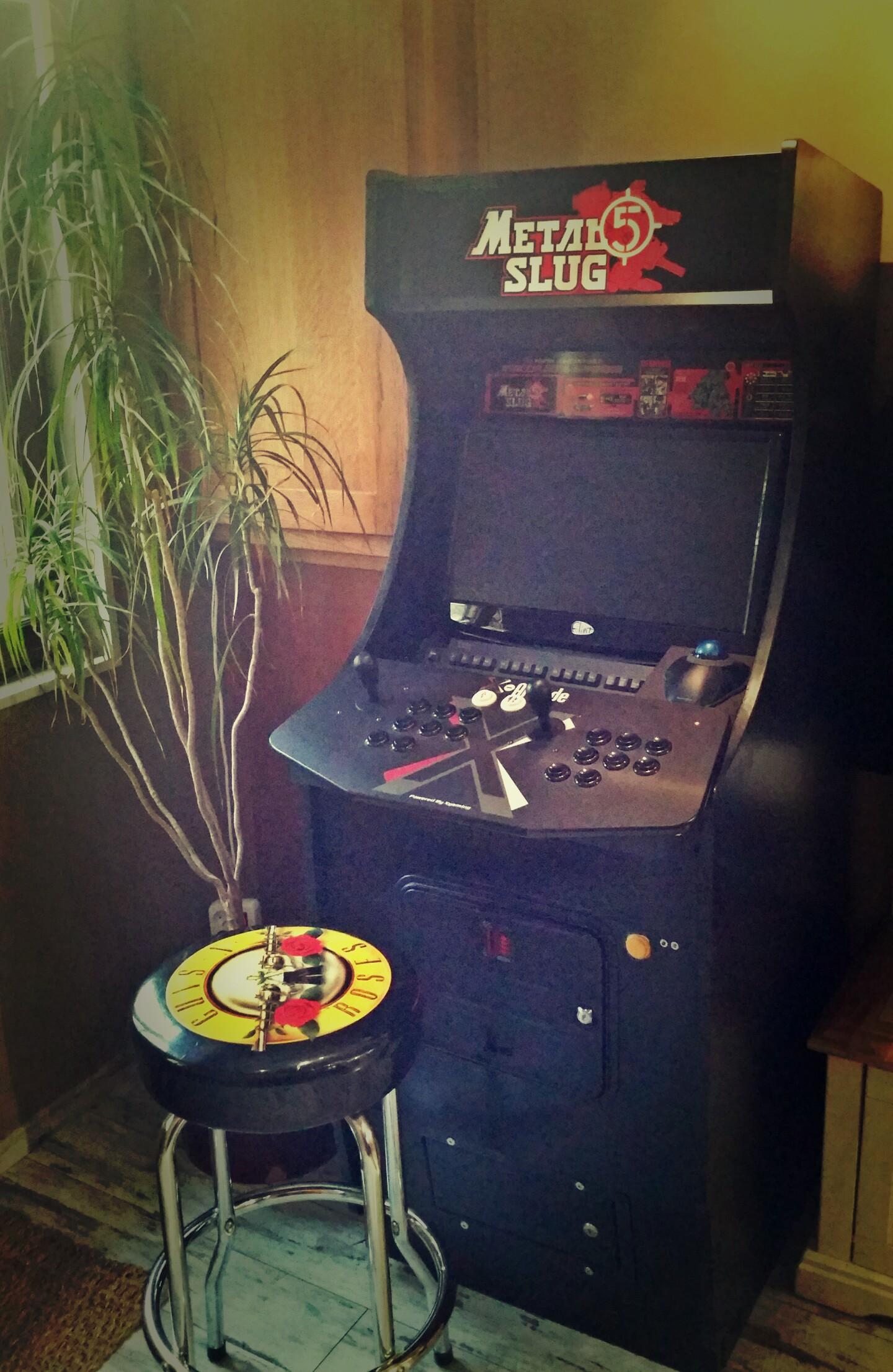 Une borne d 39 arcade la maison nicolas housset du - Borne d arcade maison ...