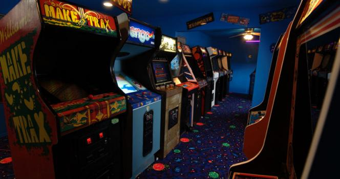 borne arcade annee 90