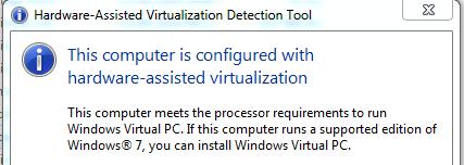 Hardware-assisted virtualization