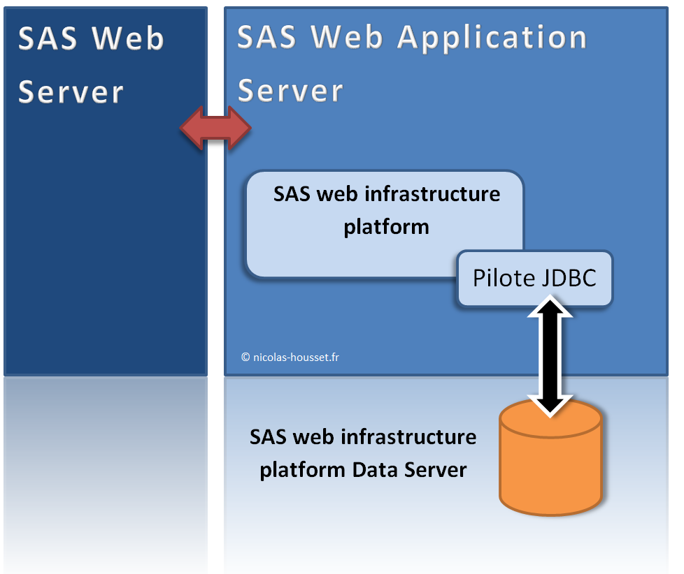 SAS web infrastructure platform data server