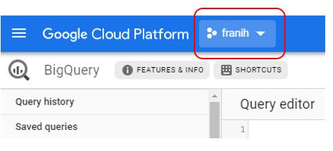 Projet Google Big Query