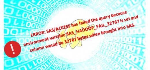 SAS_HADOOP_FAIL_32767